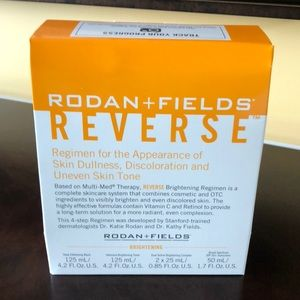 Other - Rodan and Fields REVERSE regimen retail $190